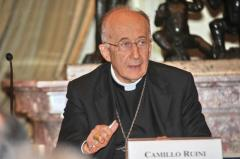 Cdl. Camillo Ruini; photo from dagospia