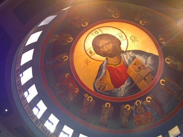 Dome, St. John the Baptist Byzantine-rite Cathedral, Munhall, PA