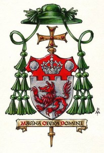 coat of arms of Bp. Steven Lopes